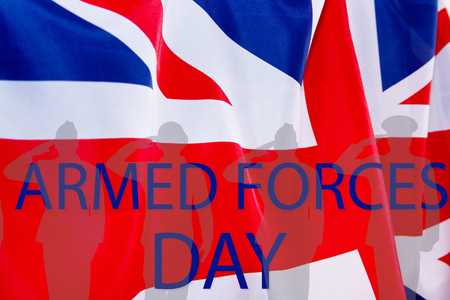 ARMED FORCES DAY UK background.