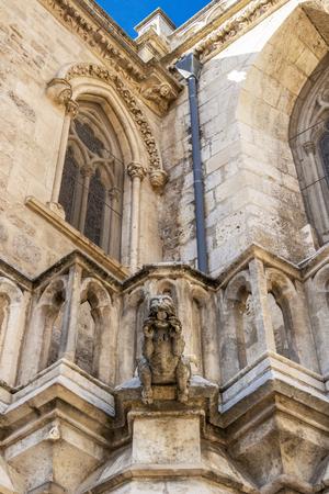 Burgos Cathedral or Cathedral of Saint Mary of Burgos exterior detail, Province of Burgos, Castilla y Leon, Spain on the Way of St. James, Camino de Santiago
