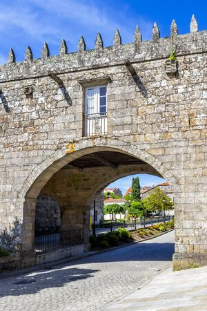 Pazo do Coton at Negreira in A Coruna Province, Galicia, Spain on the Fisterra-Muxia Way of St. James