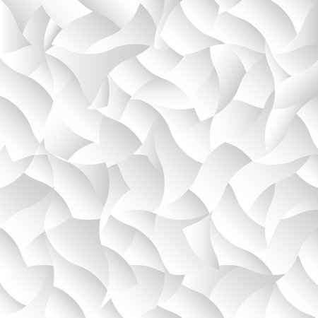 torn: Vector white geometric background. Geometrical wallpaper