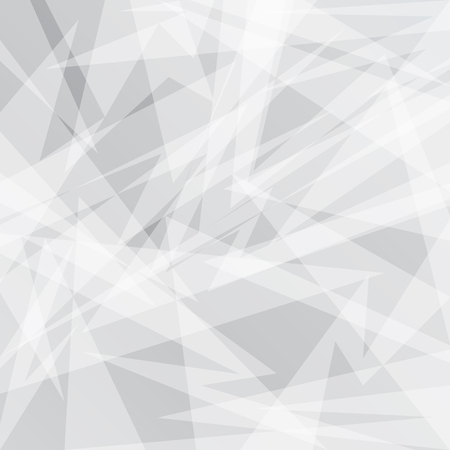 Abstract Grey geometric background with triangles. Vector trendy graphic design