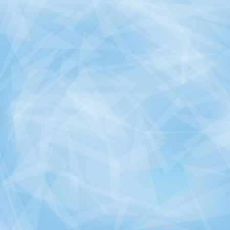 Abstract Blue geometric background. Vector trendy graphic design