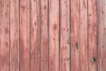 old fence: Background of wooden red old fence texture