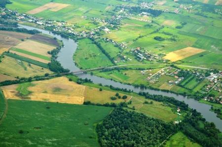 Odra River, Poland Stock Photo
