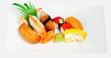 Gemischte japanische Sushi  Lizenzfreie Bilder
