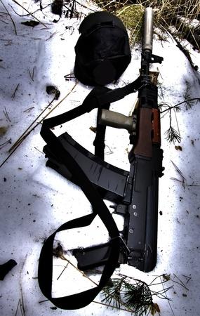 Ak47 silenced