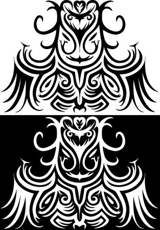 Ornamental illustration of Druid