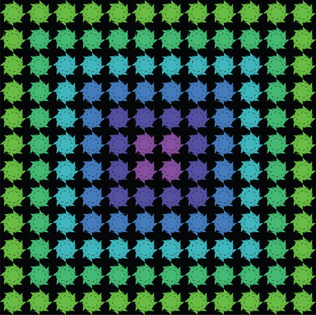 Modern abstract detailed dot pattern