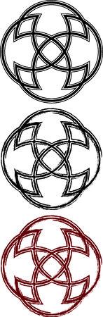 Orante rune variations for artistic and design purpose