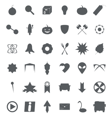 Set of various symbols and icons for web and eCommerce 免版税图像 - 88919925
