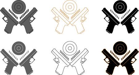 Presentation logotype for marksmanship competition