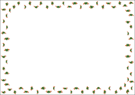 Decorative leaves background for propagations, invitation cards and posters