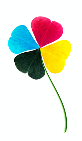polygraphy: CMYK Stock Photo