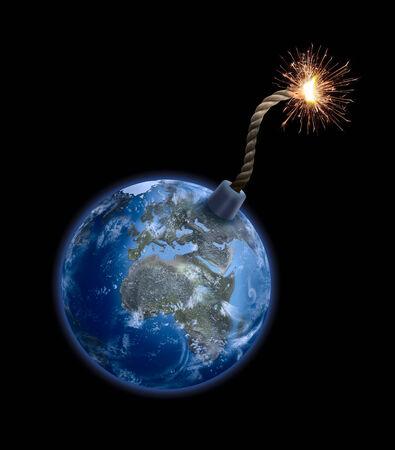 地球の爆弾