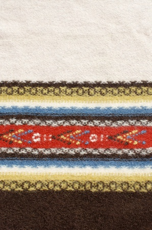 Ethnic, traditional, retro, texture rug with space for words. Stock Photo - 13059146