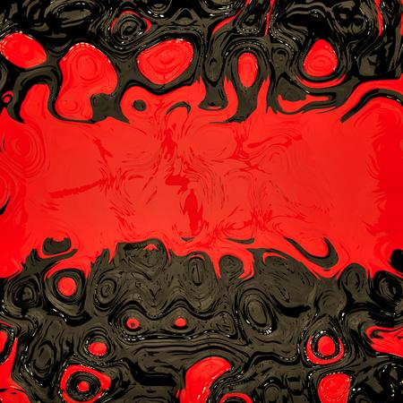 rouge et noir: Rouge couleur noire fluide fond.