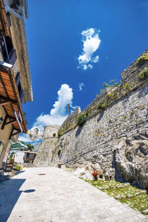 Old Bar fort in Montenegro Editorial