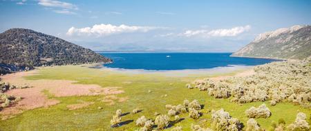 Lake Skadar in Montenegro Stock Photo