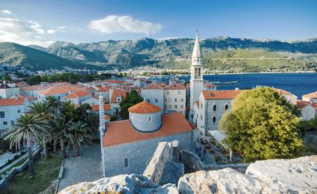 Montenegro. Budva. Old town Stock Photo