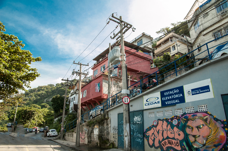 Vidigal favela Editorial