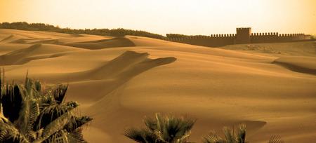Sands of Agadir Banque d'images