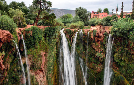 Waterfall Ouzoud in Morocco