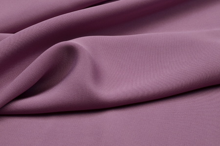 Silk fabric matte, purple