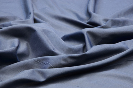 Acetate fabric. Batiste blue.