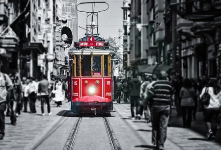 Taksim Istiklal Street. Istanbul, Turkey