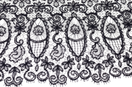 Black silk lace canvas 版權商用圖片