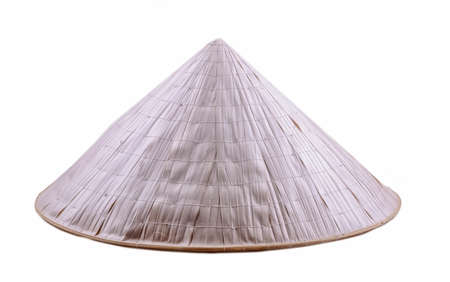 Vietnamese hat isolated on white background