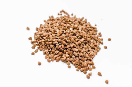 Buckwheat grain isolated