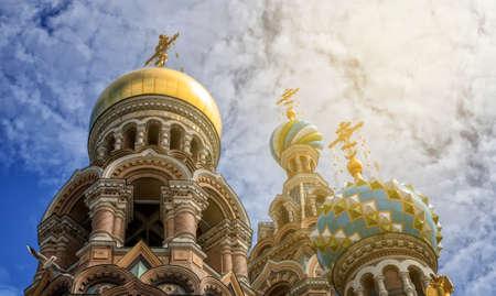 Church of the Resurrection (Savior on Spilled Blood). Saint Petersburg, Russia