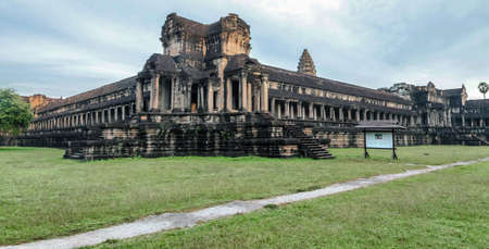 Angkor Wat Temple in Siem reap Province of Cambodia.