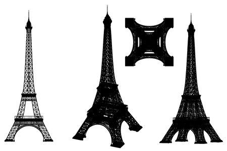 eiffel tower illustration illustration