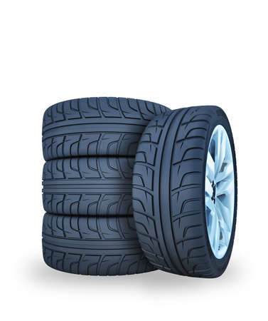 car wheels: car wheels Stock Photo