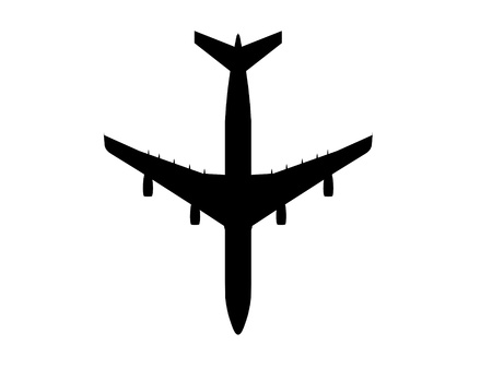 airplane airbus silhouette cg outline photo