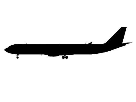 airplane airbus silhouette cg outline