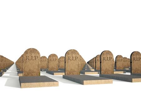 churchyard: rip grave churchyard Stock Photo
