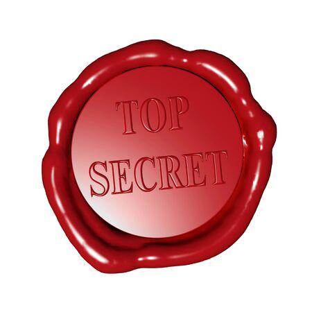 stamp top secret photo