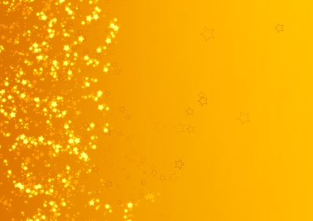 Sterne Illustration für Web-Design, Desktop-oder Hintergrund Standard-Bild - 11932521