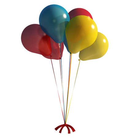 baloons: balloons illustration Stock Photo