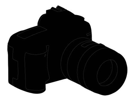 foto: camera photo silhouette outline