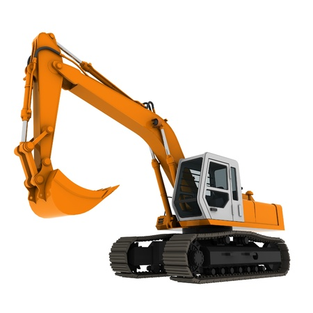 bagger: bagger excavator