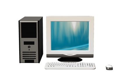 configuration: computer configuration Stock Photo