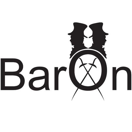 baron: baron logo Illustration