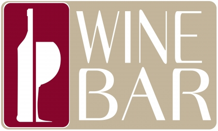 logo wine bar vector