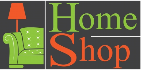 logo home shop Vector