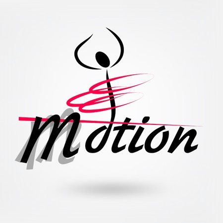 motion sport vector logo