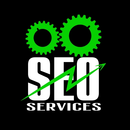 seo services vector logo Stock Vector - 16630186